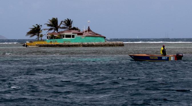 Happy Island Kite Surfer